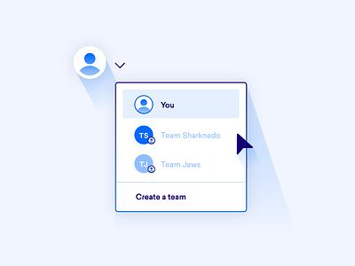 Teams servers cloud droplets account teams digitalocean