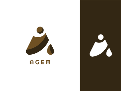 Agem modern geometric socks future curve corporate company button design graphic design branding logo logotype