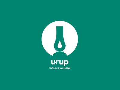 Urup ui illustration future button curve company corporate design logo branding