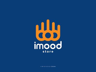 Imood graphic design animation business ui illustration future design curve corporate company button branding logodesign logo