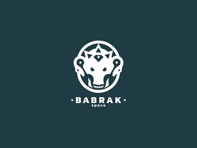 Babrak Space logodesign ui illustration logo future design curve corporate company button branding