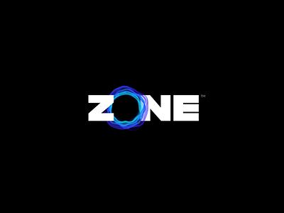 ZONE identity icon design brand identity logo design branding typography kinetic brand logo