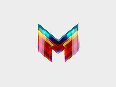 Mosnet m letter internet provider link speed data sharp red company brand branding