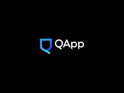 QApp brand identity logodesign logotype brand agency brand design branding design brand logo