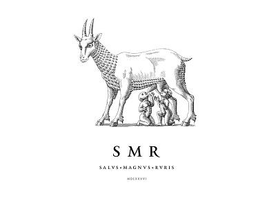 Samara brandberry gravure goat coat