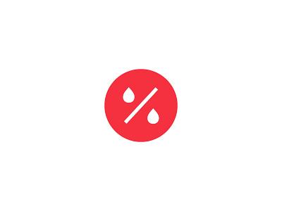 Discounter for sale sale percent liquor discount icon brand design logo