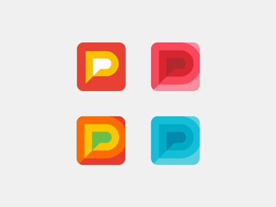 Pocket Play app play game pocket icon brand design logo