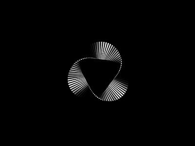 Möbius symbol service logo 3d identity logo a day moebius möbius branding design branding concept branding and identity brand agency cd4 triangle impossible shape branding app icon design brand logo