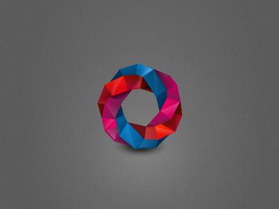 Next Ruby  ruby geometric blue red pink logo icon