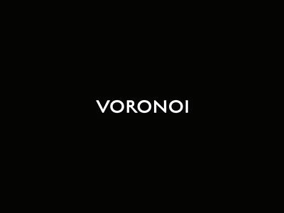 Intro intro distortion voronoi logotype animation motion logo