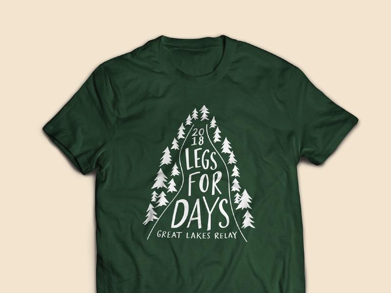 GLR 18 / t-shirt t-shirt lettering illustration design