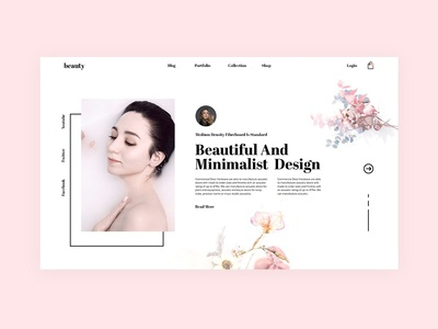 Multipurpose Minimal Landingpage/Website Design