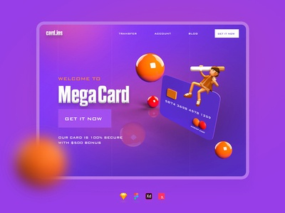 Banking Beta Concept ux ui website web withdraw atm card data card credit card debit card master card