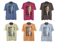 Hula Girl T-Shirt Colors