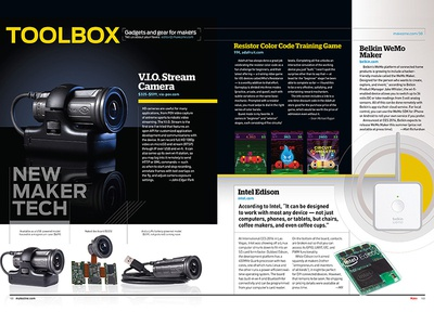 MAKE 38 Toolbox  make toolbox tech diy magazine publishing print design graphic design print design