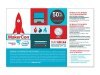 Makercon Postcard