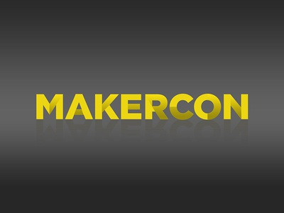 MakerCon Logo  logo graphic design design typography make makercon branding logo design