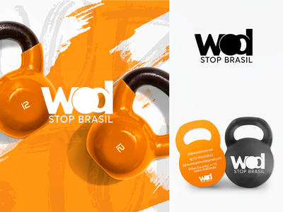 WOD branding logo design