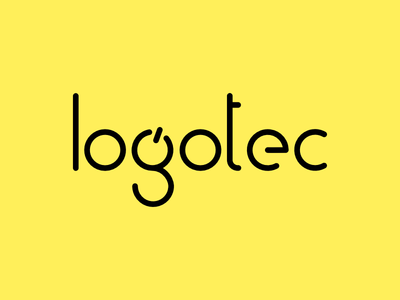 Logotec minimalistic logotype graphic design logo design