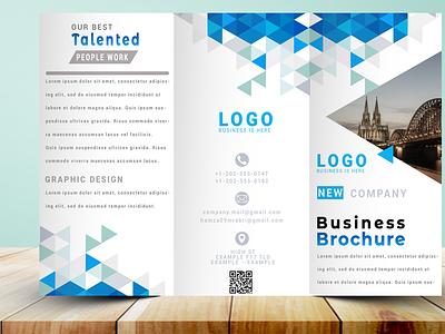 TriFold Brochure Design illustration typography design graphic design branding brochure design