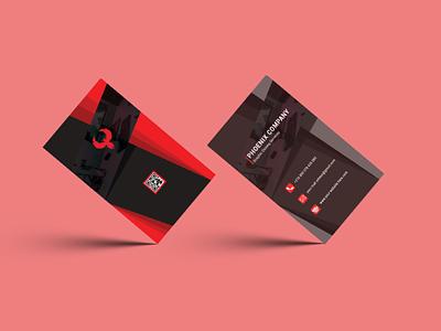 3D Business Card Design business illustrator marketing photoshop graphic design illustration design branding business card