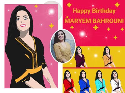 Happy Birthay Mariem