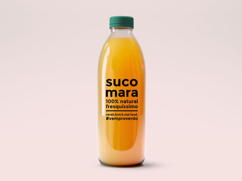 Verdô - Juice Label - Healthy Drink