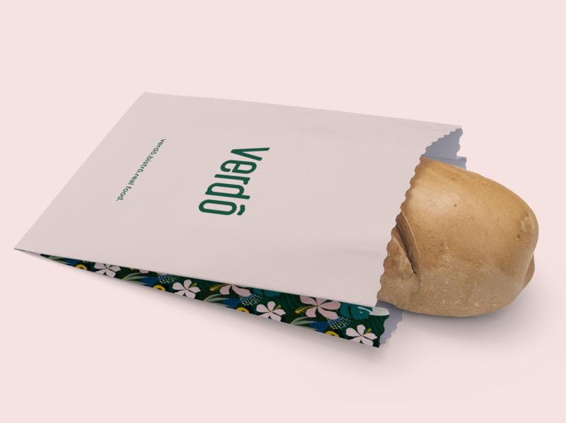 Verdô - Bread Packaging - Healthy Bistro