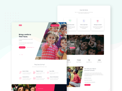 Charity-Donation-UI-Template website web design welfare volunteer social organization nonprofit non-profit non profit ngo fundraising foundation donations rakibuix donate charity hub charity save human