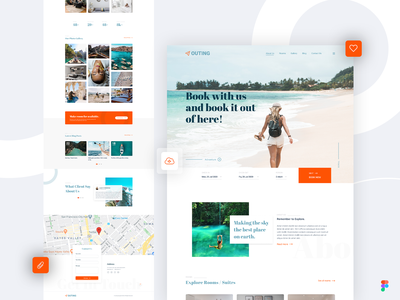 Hotel Booking & Traveling reservation Template ui appdesign ux adobeinsiders uiux instaui uianimation userexperiencedesign uidesigner userexperience webdesign learndesign instadesign design madewithcc designtutorial uxdesign userinterface website uitrends