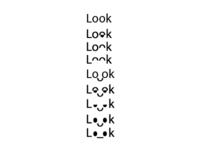 Idea for 'Look' logo