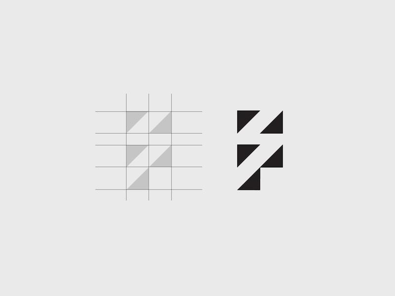 F & S Logo minimalist negative s f idea logo inspiration