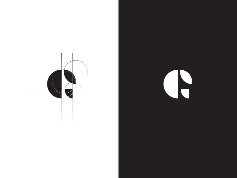 G Logo branding vector type illustration design simple minimalist idea inspiration logo