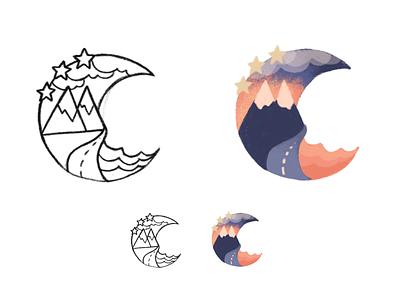 Crest Concept Skecth illustration crest sketch concept logo