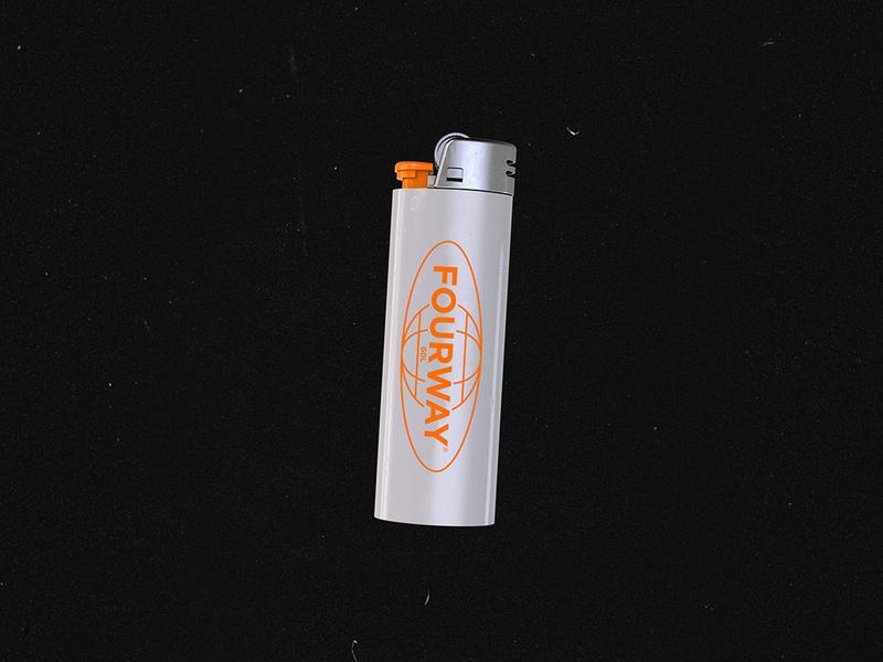 FourWay® Lighter design world encendedor lighter mexico guadalajara gdl product design branding logotype logo fourway