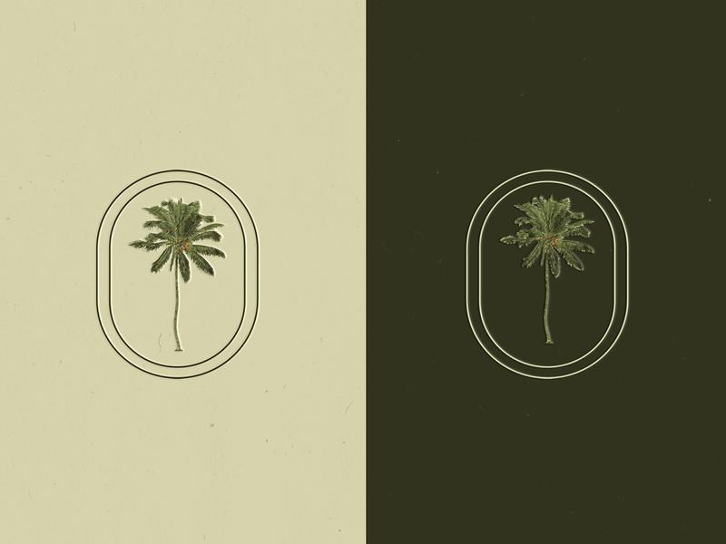 Logotype for Palm House illustration logotipos mexico guerrero acapulco branding design logotipo branding colors logo logotype palm house palm house