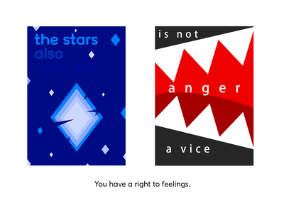 social posters about emotions poster illustration design vector