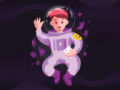 Adinstronaut web vector ux ui illustrator illustration flat design app