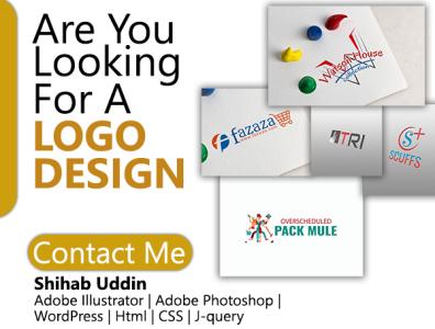 Are you Looking for logo Design app web illustration vector typography logo design logo flat design branding