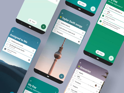 To Do's New Look 🍭 mobile customization personalization themes app tasks ui animation android