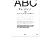Helvetica - Three Periods of Type
