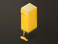 Isometric Banana