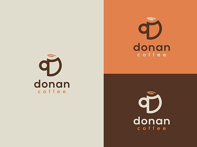 Donan Coffee | Criação de Marca logotipo coffee café marca identidade visual branding brand