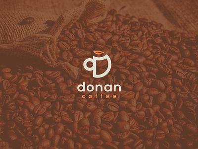 Donan Coffee | Criação de Marca brand identity cafeteria logotipo identidade visual coffee branding brand
