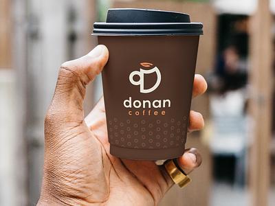 Donan Coffee | Criação de Marca logotipo identidade visual coffee brand branding