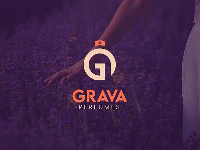 Grava Perfumes | Criação de Marca identidade visual branding brand marca logotipo cosmetics perfumes