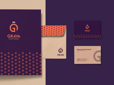 Grava Perfumes | Criação de Marca perfumes marca logotipo identidade visual cosmetics branding brand