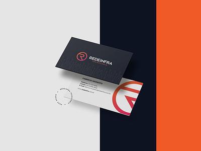 Visual Identity - Redeinfra Tecnologia technology design brand identity branding brand visual identity