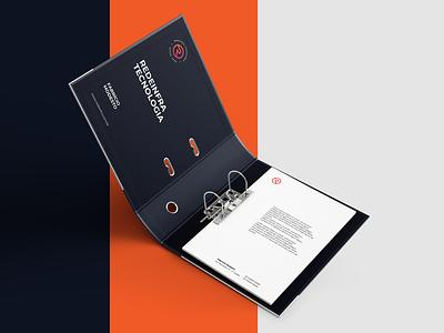 Visual Identity - Redeinfra Tecnologia visual identity tecnology design branding brand identity brand