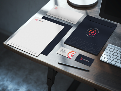 Visual Identity - Redeinfra Tecnologia visual identity technology branding design branding brand identity brand